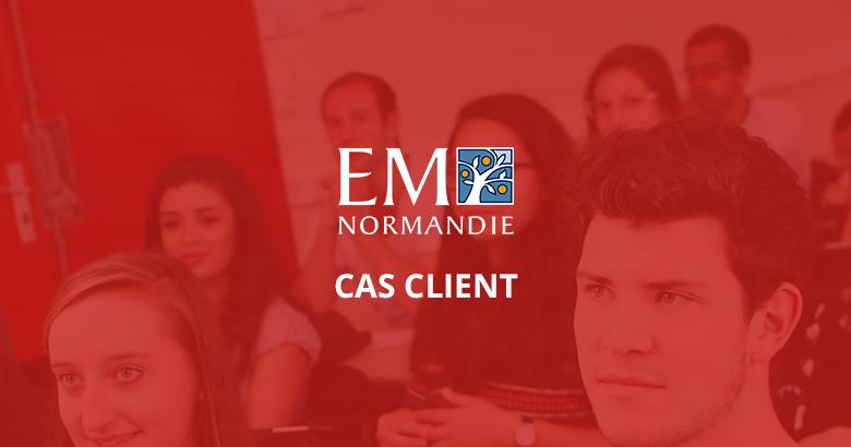 InterviewApp x EM Normandie
